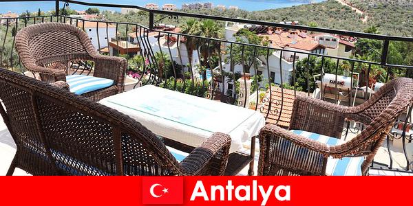 トルコのおもてなしは、アンタルヤの観光客によって再び確認されます