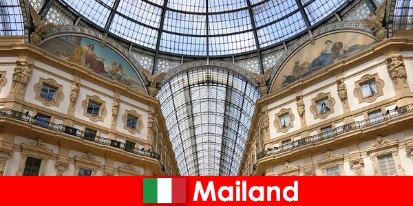 ルネッサンスのシンボルを持つミラノの神秘的な雰囲気