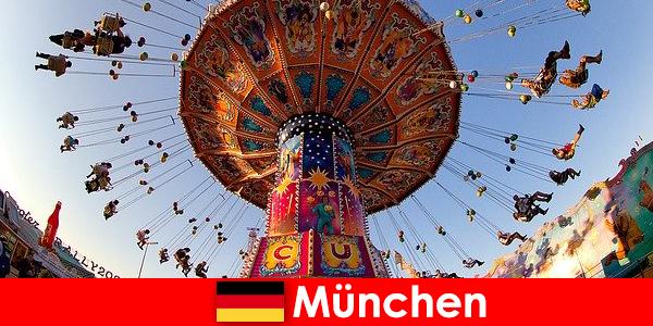 ミュンヘンの国際スポーツイベントやオクトーバーフェストはゲストのための磁石です