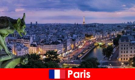 パリは、建物に特別な魅力を持つアーティスト都市