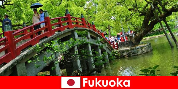 福岡は、移民のための生活の質の高いリラックスした、国際的な雰囲気です