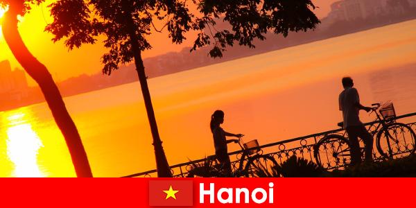 熱い温度を愛する旅行者のためのハノイ、終わりのない楽しみ