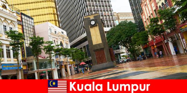 マレーシア最大の首都圏のクアラルンプール文化経済の中心地