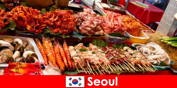 ソウルはまた、そのおいしいと創造的なストリートフードのために旅行者の間で有名