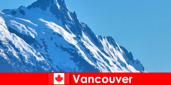 カナダのバンクーバー市は登山観光の主な目標です