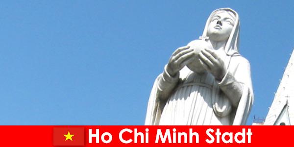 ベトナムホーチミン市の経済の中心地外国人のための目的地