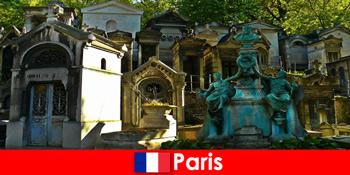 フランスパリの特別な埋葬地を持つ墓地愛好家のためのヨーロッパ旅行