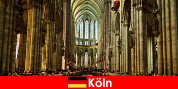 ケルン大聖堂の3人の聖なる王への見知らぬ人のための巡礼