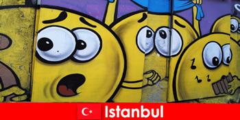 週末の旅行として世界中からヒップスターやアーティストのためのトルコイスタンブールのシーンクラブ