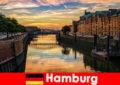 ハンブルクドイツの短い休憩のための建築の美しさとエンターテイメント