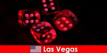 ラスベガスアメリカ合衆国で千のゲームの輝く世界への旅