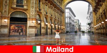 イタリアミラノの有名なオペラハウスや劇場へのヨーロッパ旅行