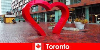 多文化都市としてカラフルな都市体験外国人としてトロントカナダ