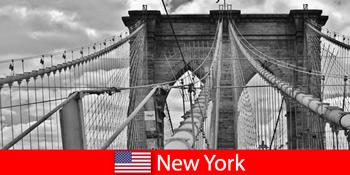 世界の大都市ニューヨーク米国への自発的な海外旅行