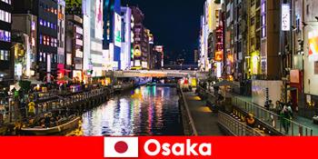 大阪の外国人旅行者を待ち受け、エンターテイメント地区や珍味