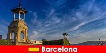 バルセロナスペインの考古学的遺跡は、熱狂的な歴史の観光客を待っています