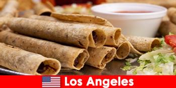 外国人観光客は、ロサンゼルスの最高のレストランで多目的な料理イベントを期待することができます