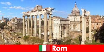 ローマイタリアの古代発掘調査と遺跡へのヨーロッパのゲストのためのバスツアー