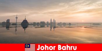 ジョホールバルマレーシアのホリデーメーカーのためのホテルの予約は、常に市内中心部にあります